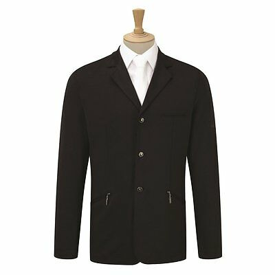 """BNWT Caldene Competition Girl's Cadence Stretch Riding Jacket - Black - Size 30"""""""