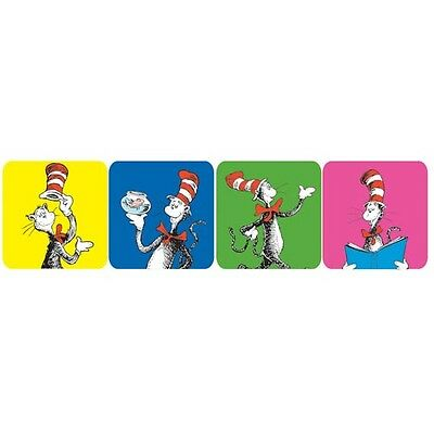 Dr. Seuss Cat in the Hat Theme Stickers