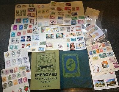 Collection of Stamps in 2 Albums and loose