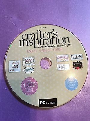 Crafters Inspiration Papercrafting Cd Rom Issue 13 Spring 2017
