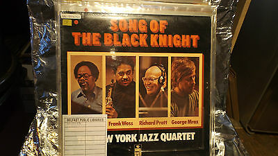 Song Of The Black Knight The New York Jazz Quartet Lp