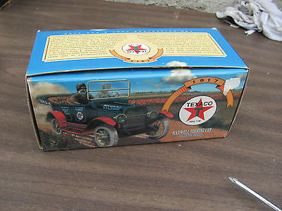 ERTL Texaco Maxwell Touring Car Coin Bank Die Cast. (Knovelstuff)
