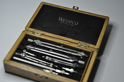 Wedeco Vintage Technical Drawing Set