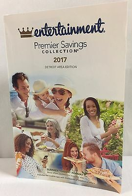 Entertainment Coupon Book - Detroit Area Edition 2017 - NEW!!