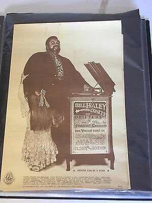 FD133 BILL HALEY & THE COMETS AVALON CONCERT POSTER by HUNTER & WAINWRIGHT