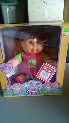 Cabbage Patch Kissin Kid 1991 - Brown/red hair, green eyes