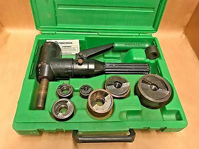 GREENLEE 7904SB Quick Draw 90 Hydraulic Punch Driver Kit **LOOK**