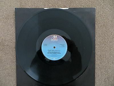 """AFRICA BAMBAATA and THE SOUL SONIC FORCE- PLANET ROCK, 12"""" VINYL SINGLE, 1982"""