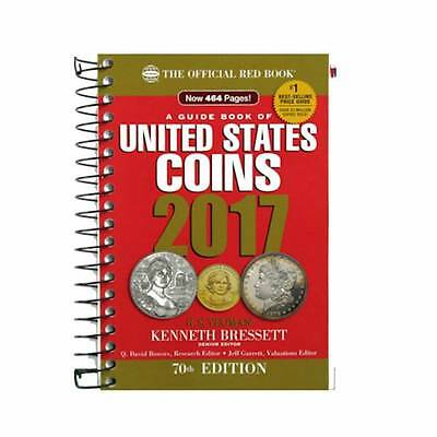 2017 Red Book Price Guide, 70th Edition, Spiral, In Stock & Shipping NOW