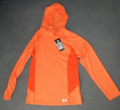Womens Under Armour Fitted Pull Over Shirt Cool Switch & Upf 50 Size Small Bnwt