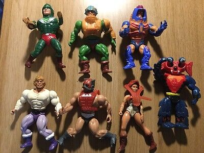 Vintage Masters Of The Universe He-Man.  Job Lot Of 7 Figures
