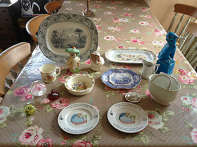 A Collection Of Vintage & Antique China Items (Wedgwood,royal Doulton,etc)