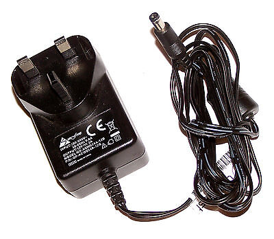 Sunfone GP-ACW024A-12B 12VDC 2A UK AC Adapter with Barrel Connector
