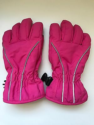 Hanna Andersson Warm Hands Insulated Gloves Pink Size Medium