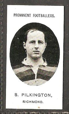 Taddy & co- Prominent Footballers (no footnote) (1907) S.Pilkington - Richmond