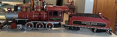 North Star Express g scale train Engine & Tender Bachman New - No Box