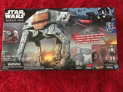 Star Wars Rogue One Rapid Fire Imperial At-Act At-at Nerf Bluetooth New In Box