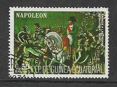 Equatorial Guinea - Used Stamp - 1977 Napoleon - Speech To Bavarian Troops