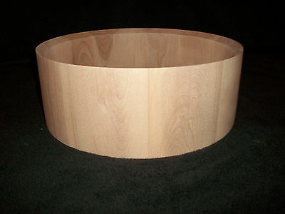 """5 x14"""" Birch Solid Stave Snare Drum Shell"""