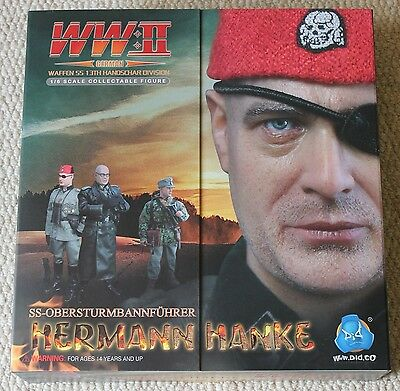 dragon action figure did german hanke 1/6 12'' boxed toy ww11
