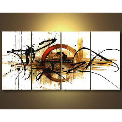Modern Original Abstract Canvas Hand Painted Oil Painting Home Decor Art Framed