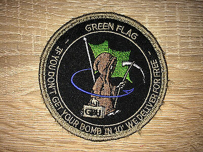 Patch Mirage 2000D Green Flag
