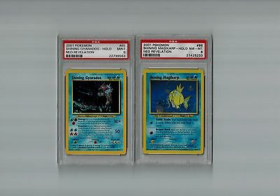 Shining MAGIKARP Shining GYARADOS Psa Pokemon Cards