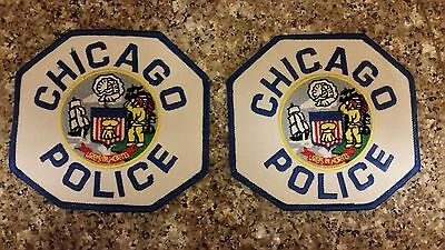 chicago police patch set