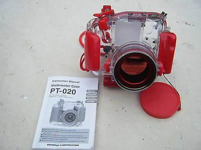Olympus Underwater Housing Case PT-020 (used) X 2