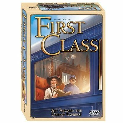 First Class - Factory SEALED - Brand New Board Game - Z-man games