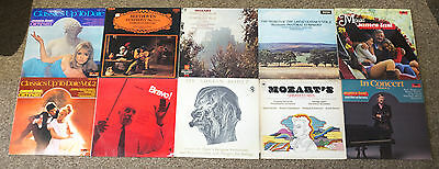 Job Lot Collection Of 11 Classical Music Vinyl Lp's / Records