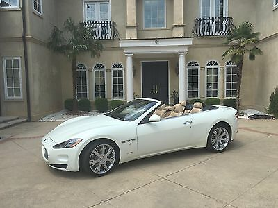 2013 Maserati Gran Turismo Base Convertible 2-Door 7800 miles only!  Wife driven.