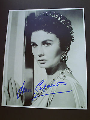 Jean Simmons Genuine Signed 10X8 Photograph