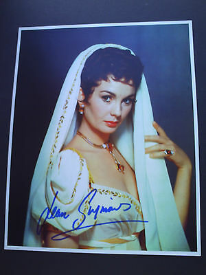 Jean Simmons Spartacus Genuine Signed 10X8 Photograph