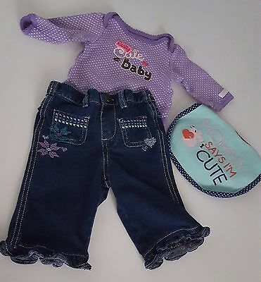 Baby girl clothes size 18 months Carter's brand clothing lot