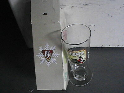 Beer Glass - BJ's Brewhouse Brand kolsch style blonde new in box