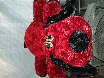 28 inch DanDee Clifford the dog flat plush