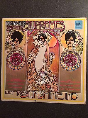 The Supremes - Let The Sunshine In - UK LP - Tamla Motown