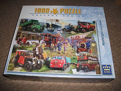 King Jigsaw Puzzle  -  Nostalgia By Kevin Walsh - 1000 Piece
