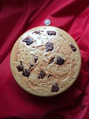 Giant Chocolate Chip Cookie Biscuit Tin Quirky Unusual