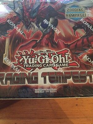 Yugioh Raging Tempest Sealed Booster Box RATE