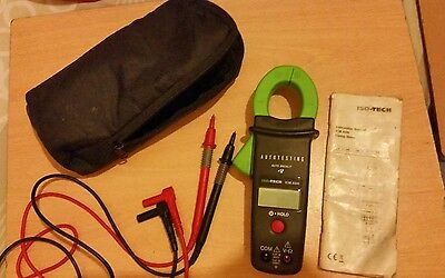 iso-tech clamp meter