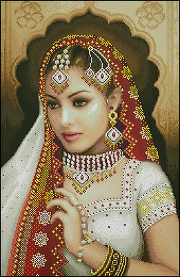 Beauty in Red - Cross Stitch Chart - Free Postage