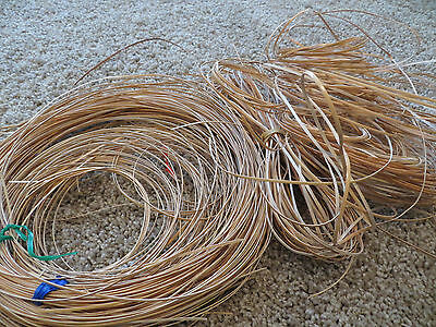 Caning for Basket Weaving