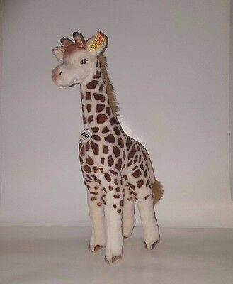 "Retired Steiff Original BENDY Giraffe 064340 - New With Tags 15.5"" Tall"
