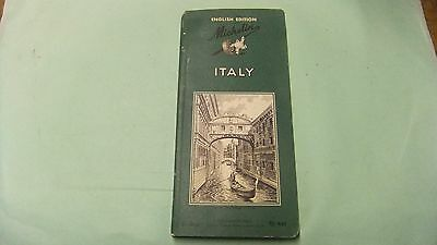 1962 Michelin Guide to Italy, 3rd Edition, English