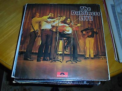 Lp/ The Dubliners / Live (1974 Uk Polydor