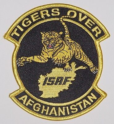 Bw Abzeichen Aufnäher Patch ISAF TIGERS OVER AFGHANISTAN