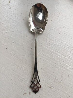 Wonderful Vintage Antique Sterling Silver Spoon Marked And Hallmarked