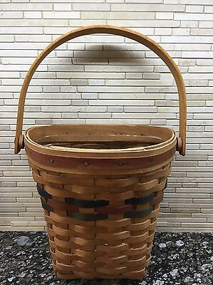 Longaberger  1993 Shades of Autumn Harvest Basket & Protector - Displayed Only!